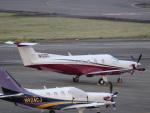 reonさんが、名古屋飛行場で撮影したアメリカ企業所有 PC-12/45の航空フォト(写真)