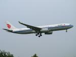 えぬえむさんが、成田国際空港で撮影した中国国際航空 A330-343Xの航空フォト(写真)