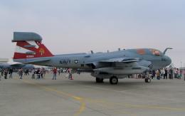 asuto_fさんが、岩国空港で撮影したアメリカ海軍 EA-6B Prowler (G-128)の航空フォト(飛行機 写真・画像)