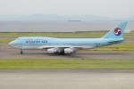 きんめいさんが、中部国際空港で撮影した大韓航空 747-4B5の航空フォト(写真)