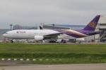 たみぃさんが、成田国際空港で撮影したタイ国際航空 777-2D7/ERの航空フォト(写真)