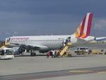 ヒロリンさんが、ウィーン国際空港で撮影したジャーマンウィングス A320-211の航空フォト(写真)