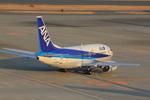 ふじいあきらさんが、羽田空港で撮影したエアーネクスト 737-5L9の航空フォト(写真)
