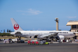 Dra-gonさんが、ダニエル・K・イノウエ国際空港で撮影した日本航空 777-246/ERの航空フォト(飛行機 写真・画像)