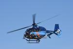蒼い鳩さんが、福井空港で撮影した福井県警察 EC135T2+の航空フォト(写真)
