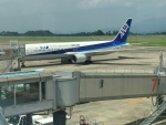 Tatsu mitsuさんが、鹿児島空港で撮影した全日空 767-381の航空フォト(写真)