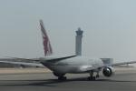とらとらさんが、ドーハ・ハマド国際空港で撮影したカタール航空 777-3DZ/ERの航空フォト(飛行機 写真・画像)