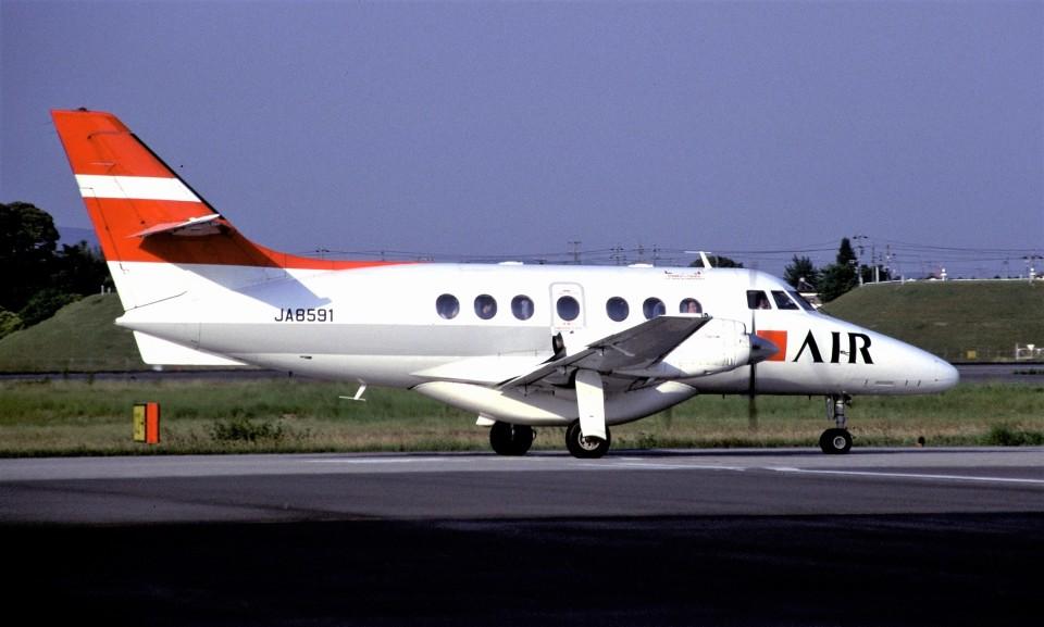 ハミングバードさんのジェイエア British Aerospace Jetstream 31/Super 31 (JA8591) 航空フォト