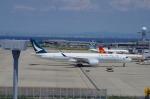 SSB46(旧YW)さんが、関西国際空港で撮影したキャセイパシフィック航空 A350-941XWBの航空フォト(写真)