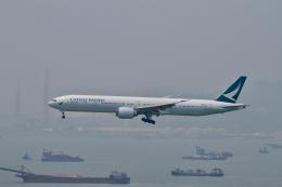 tupolevさんが、香港国際空港で撮影したキャセイパシフィック航空 777-367/ERの航空フォト(写真)