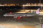 DBACKさんが、羽田空港で撮影したカタール航空 A350-941XWBの航空フォト(写真)