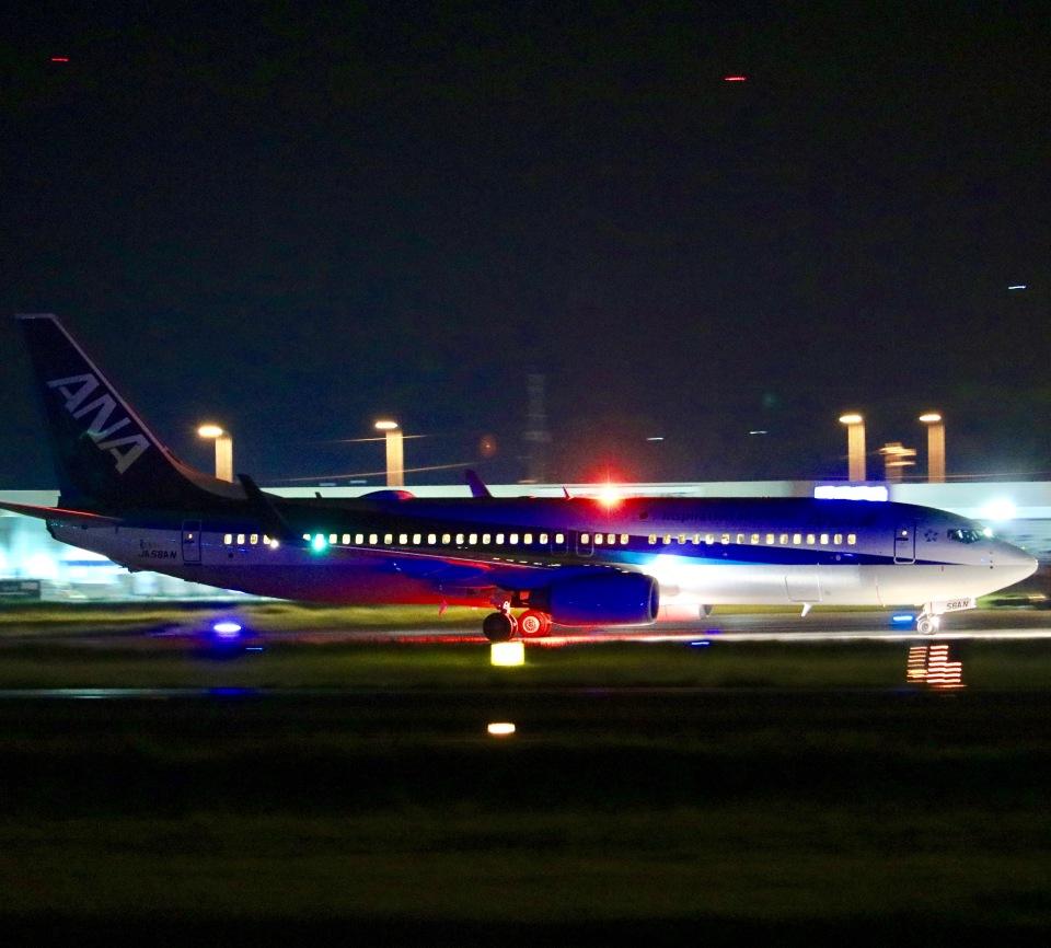Zakiyamaさんの全日空 Boeing 737-800 (JA56AN) 航空フォト