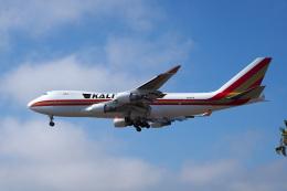 LAX Spotterさんが、ロサンゼルス国際空港で撮影したカリッタ エア 747-4B5F/SCDの航空フォト(写真)