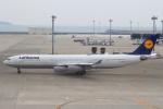 セブンさんが、中部国際空港で撮影したルフトハンザドイツ航空 A340-313Xの航空フォト(飛行機 写真・画像)