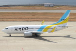 セブンさんが、神戸空港で撮影したAIR DO 737-781の航空フォト(飛行機 写真・画像)