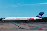 菊池 正人さんが、ストックホルム・アーランダ空港で撮影したスカンジナビア航空 MD-87 (DC-9-87)の航空フォト(写真)