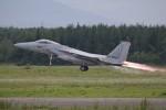 北の熊さんが、千歳基地で撮影した航空自衛隊 F-15J Eagleの航空フォト(飛行機 写真・画像)