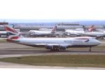 WING_ACEさんが、ロンドン・ヒースロー空港で撮影したブリティッシュ・エアウェイズ 747-236Bの航空フォト(写真)