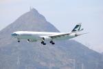 Masahiro0さんが、香港国際空港で撮影したキャセイパシフィック航空 A330-343Xの航空フォト(写真)