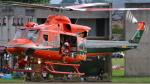 (ヘリの絵文字)じゃがいもさんが、富山空港で撮影した富山県消防防災航空隊 412EPの航空フォト(写真)
