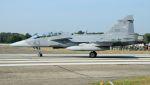 C.Hiranoさんが、クライネ・ブローゲル空軍基地で撮影したハンガリー空軍 JAS39Dの航空フォト(写真)