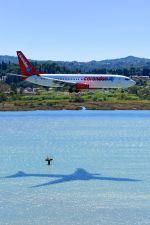 コルフ・イオアニス・カポディストリアス空港 - Corfu International Airport, Ioannis Kapodistrias [CFU/LGKR]で撮影されたコレンドン・ダッチ・エアラインズ - Corendon Dutch Airlines [CD/CND]の航空機写真
