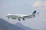 Masahiro0さんが、香港国際空港で撮影したキャセイパシフィック航空 A330-342の航空フォト(写真)