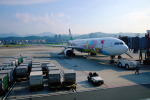 ppuw43さんが、台北松山空港で撮影したエバー航空 A330-302Xの航空フォト(写真)