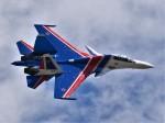 こじゆきさんが、ラメンスコエ空港で撮影したロシア空軍 Su-30SMの航空フォト(写真)