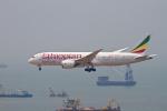 tupolevさんが、香港国際空港で撮影したエチオピア航空 787-8 Dreamlinerの航空フォト(写真)