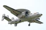 msrwさんが、厚木飛行場で撮影したアメリカ海軍 E-2D Advanced Hawkeyeの航空フォト(写真)