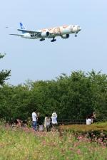 jinopekoさんが、成田国際空港で撮影した全日空 777-381/ERの航空フォト(写真)
