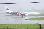kingmengraiさんが、成田国際空港で撮影したマレーシア航空 737-8H6の航空フォト(写真)