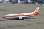 雪虫さんが、中部国際空港で撮影した日本トランスオーシャン航空 737-446の航空フォト(写真)