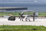 yabyanさんが、米子空港で撮影した航空自衛隊 E-2C Hawkeyeの航空フォト(飛行機 写真・画像)