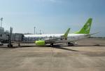 mojioさんが、鹿児島空港で撮影したソラシド エア 737-86Nの航空フォト(飛行機 写真・画像)
