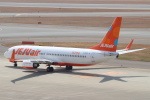セブンさんが、中部国際空港で撮影したチェジュ航空 737-8ASの航空フォト(写真)