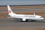 セブンさんが、中部国際空港で撮影した日本航空 737-846の航空フォト(写真)