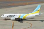 セブンさんが、中部国際空港で撮影したAIR DO 737-781の航空フォト(写真)