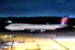 sepia2016さんが、成田国際空港で撮影したデルタ航空 747-451の航空フォト(写真)