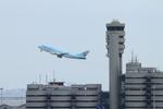 SKYLINEさんが、羽田空港で撮影した大韓航空 747-4B5の航空フォト(写真)