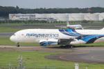 パピヨンさんが、成田国際空港で撮影したマレーシア航空 A380-841の航空フォト(写真)