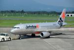 mojioさんが、鹿児島空港で撮影したジェットスター・ジャパン A320-232の航空フォト(飛行機 写真・画像)