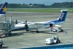 mojioさんが、鹿児島空港で撮影したANAウイングス DHC-8-402Q Dash 8の航空フォト(飛行機 写真・画像)