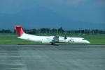 mojioさんが、鹿児島空港で撮影した日本エアコミューター DHC-8-402Q Dash 8の航空フォト(飛行機 写真・画像)