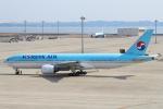 セブンさんが、中部国際空港で撮影した大韓航空 777-2B5/ERの航空フォト(写真)
