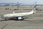 セブンさんが、中部国際空港で撮影したエティハド航空 A330-243の航空フォト(飛行機 写真・画像)