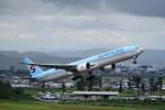 kumagorouさんが、仙台空港で撮影した大韓航空 777-3B5/ERの航空フォト(飛行機 写真・画像)