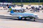 まいけるさんが、フランクフルト国際空港で撮影したウズベキスタン航空 757-231の航空フォト(写真)