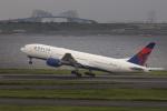 norimotoさんが、羽田空港で撮影したデルタ航空 777-232/ERの航空フォト(写真)